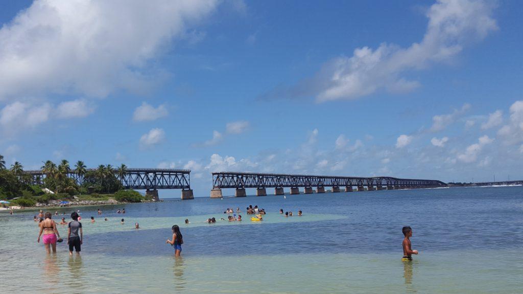 Bahía Honda broen mod Key West, Florida